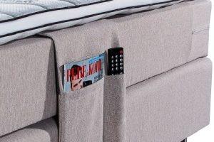 Lovos kišenė smulkiems daiktams susidėti Sleepwell BLACK serijos lovoms
