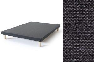 Sleepwell BLUE Frame dvigulės lovos rėmas, tamsiai pilka spalva-audinys
