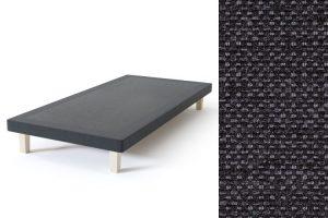 Sleepwell BLUE Frame viengulės lovos rėmas, tamsiai pilka spalva-audinys