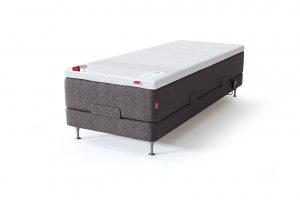 Sleepwell RED viengulė motorizuota lova, tamsiai pilka spalva