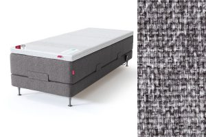 Sleepwell RED motorinė lova, pilka spalva-audinys