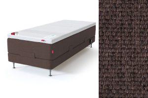 Sleepwell RED motorinė lova, ruda spalva-audinys