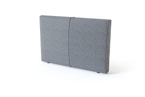 Sleepwell BLACK Pillow lovos galvūgalis pilka spalva